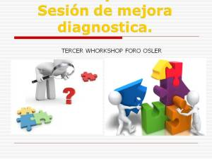 Reunión Mejora Diagnóstica 1