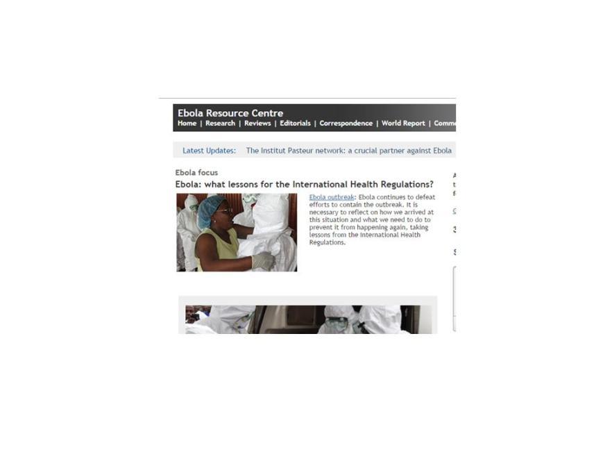 http://ebola.thelancet.com/
