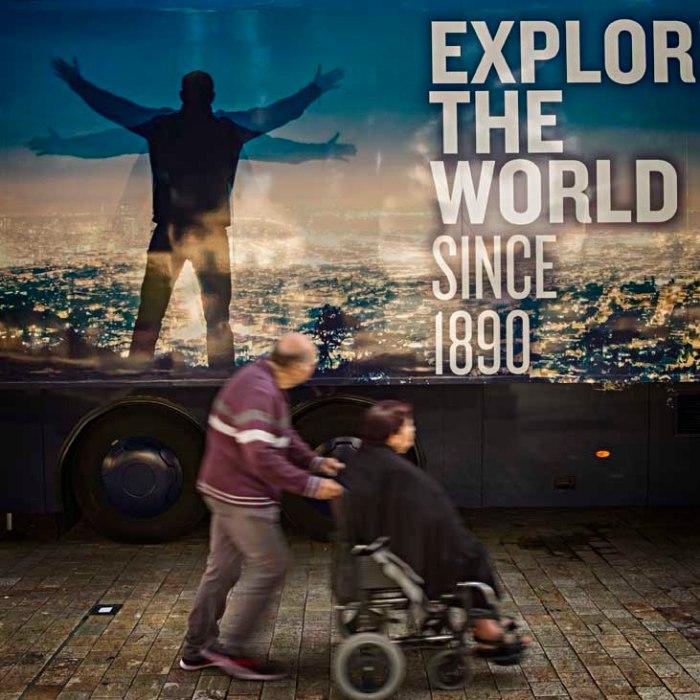 explorando el mundo